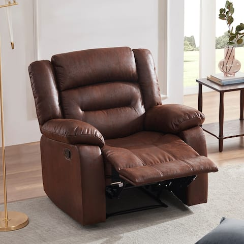 Heated Massage Recliner Chair Ergonomic Lounge with 8 Vibration Points