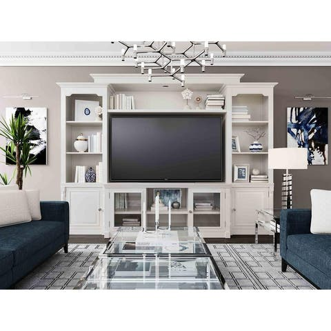Virginia Solid Wood Entertainment Center