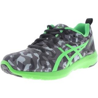 Asics Boys Gel-Bounder 2 Youth Camouflage Running Shoes - 2 medium (d)
