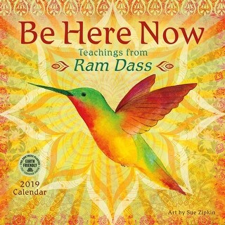 2019 Be Here Now 2019 Wall Calendar, Motivation by Amber Lotus