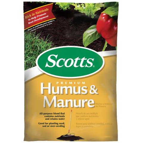 Scotts 71530750 Premium Humus & Manure, 0.75 Cu Ft