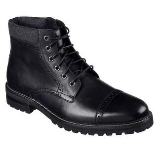 Skechers 68920 BBK Men's PARKER Boot