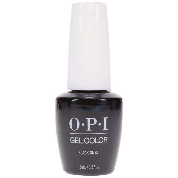 OPI Gelcolor Black Onyx Soak-Off Gel Lacquer