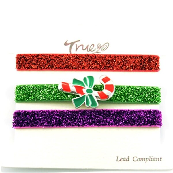 Shop Jb5044-Srd Christmas Snow Man Hair Tie Bracelet Wrist  Band-Green Red Purple - Free Shipping On Orders Over  45 - Overstock.com -  22721612 be263ce4ad8