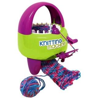 Knitting Machine & Yarn Kit - multi