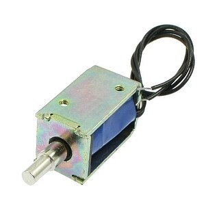 Pull Type Open Frame Actuator Electric Solenoid DC 4.5V 0.5A 4m 28gf