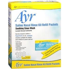 Ayr Sinus Rinse Refill Packets 100 Each