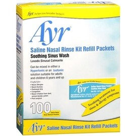 Ayr Sinus Rinse Refill Packets 100 Each (4 options available)