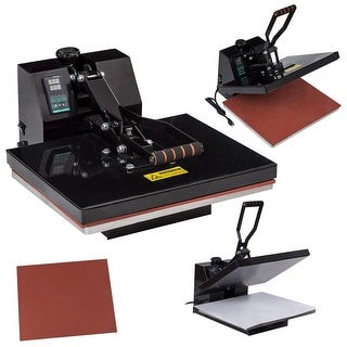 Costway 16'' X 20'' Digital Heat Press Machine Transfer Sublimation Clamshell for T Shirts