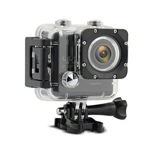 TechComm AT43W Ultra 4K 16MP Sony IMX078 CMOS Sensor 30M Waterproof 170° Wide Angle Lens Sports Action Camera