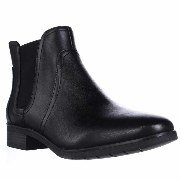 Easy Spirit Nalli Chelsea Ankle Booties, Black/Black - 5.5 us