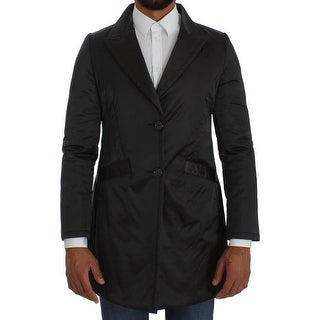 BENCIVENGA BENCIVENGA Gray Long Coat Jacket - it44-xs