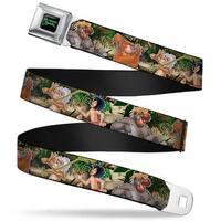 The Jungle Book Full Color Black Green The Jungle Book I Wanna Be Like You Seatbelt Belt