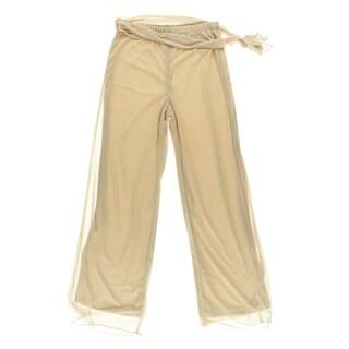Cachet Womens Dress Pants Chiffon Side Tie - XL