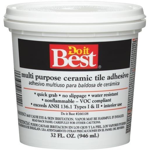 Dap Qt Ceramic Tile Adhesive 26012 Unit QT Free Shipping On