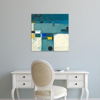 Easy Art Prints Deborah T. Colter's 'Calypso Blue III' Premium Canvas Art