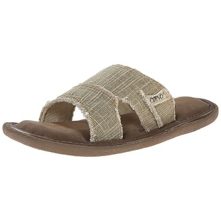 Crevo Men's Baja II Dress Sandal, Beige