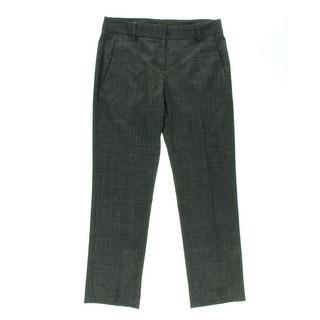 Theory Womens Namiko Wool Textured Dress Pants - 2