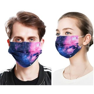 Link to 50 PcsFace Cover Masks 3Ply Layers with Earloop, Breathable Non-Woven - 50 Pcs Galaxy 2 Similar Items in Scarves & Wraps