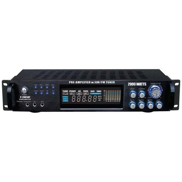 PYLE PRO P2001AT Hybrid Amp & AM/FM Tuner (2,000 Watt)