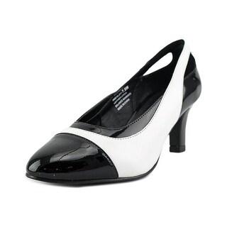David Tate Grove W Round Toe Leather Heels
