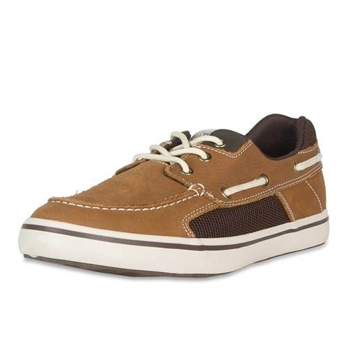 Xtratuf Men's Finatic II Deck Tan Shoes w/ Non-Marking Outsole - Size 13