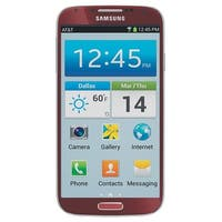 Samsung Galaxy S4 I337 16GB AT&T Unlocked 4G LTE Quad-Core Android Phone w/ 13MP Camera - Red (Certified Refurbished)