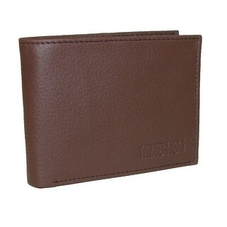 Kenneth Cole Reaction Men's Leather Broadstreet Traveler Passcase Bifold Wallet - One Size