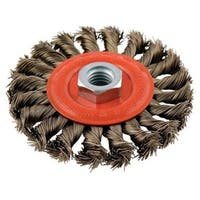 Forney 72759 Twist Knot Wire Wheel Brush, 4""
