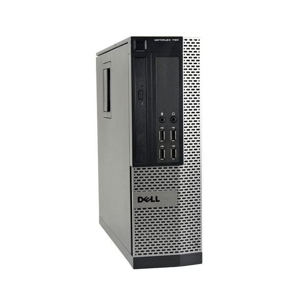 Dell Optiplex 790 Core i5-2500 3.3GHz CPU 8GB RAM 1TB HDD Windows 10 Pro SFF PC (Refurbished)
