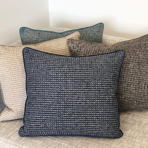 Rodeo Home Zella Minimalist Square Throw Pillow