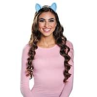 Rainbow Dash Adult Costume Ears - Blue