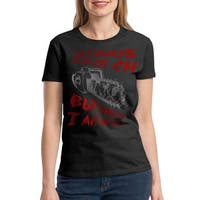 Friday 13 Scary Halloween Women's Black T-shirt