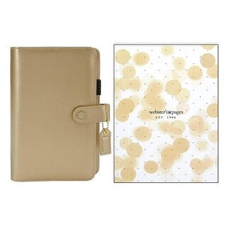 Webster's Pgs CC Planner Kit Prsnl Boxed Gold