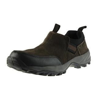 Khombu Mens Tamarack Suede Slip Resistant Slip-On Shoes - 8 medium (d)
