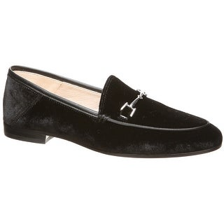 Sam Edelman Womens Loraine Silk Velvet, Black, 9M