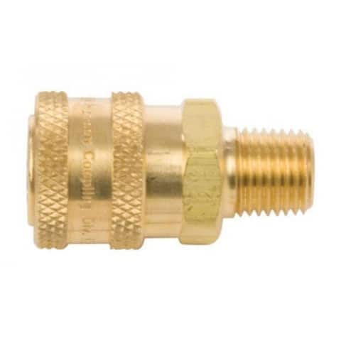 """Forney 75126 Quick Coupler Male Socket, 1/4"""", 5500 PSI"""