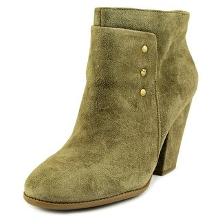 Sole Society Erlina Round Toe Suede Ankle Boot