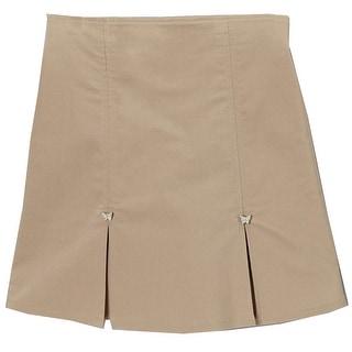 Girls Khaki Butterfly School Uniform Skort 14-18