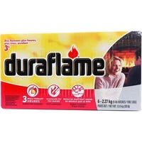Duraflame 02627 Fire Logs, 5 Lb, 6-Pack