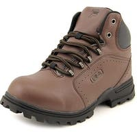 Fila Ravine 3 Youth  Round Toe Synthetic Brown Hiking Boot