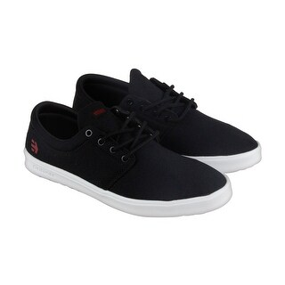 Etnies Barrage Sc Mens Black Canvas Lace Up Skate Shoes
