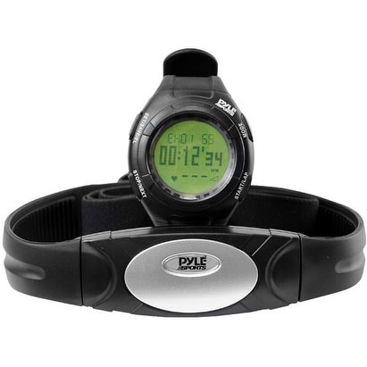 Advance Heart Rate Watch W/Walking/Running Sensor, Training Zones, and Calorie Counter