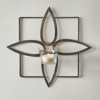 Olivia Tealight Wall Sconce - 2 Pack