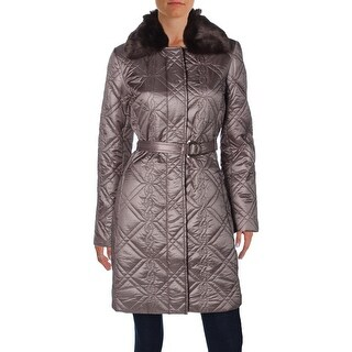 Dress Barn Womens Coat Quilted Faux Fur (3 options available)