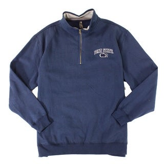 Ouray NEW Blue Mens Size 2XL Penn State Embroidered Logo 1/2 Zip Sweater 214