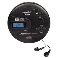 Supersonic Personal Mp3 And Cd Player With Fm Radio