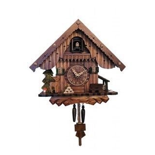 ENGS 405QM Engstler Battery-operated Cuckoo Clock - Full Size