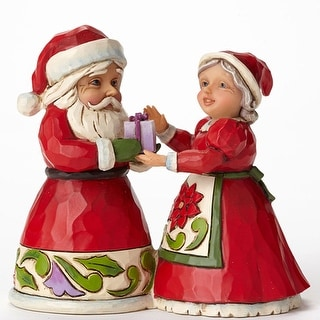 Mini Santa and Mrs Claus