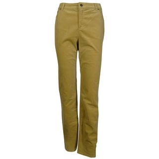 Charter Club Women's Straight Leg Corduroy Pants